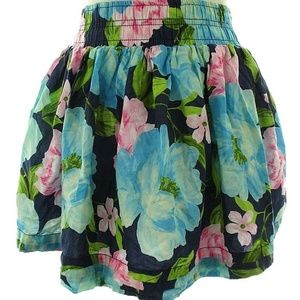 Hollister S Small For Mini Skirt Lined Floral Summ